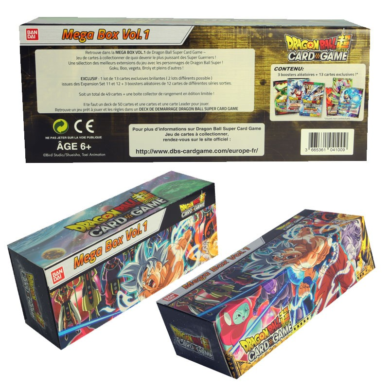 Dragon Ball Super Jcc Mega Box Estalia